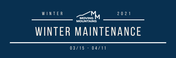 This Week at Moving Mountains- 04/12
