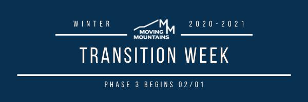 This Week at Moving Mountains- 01/25