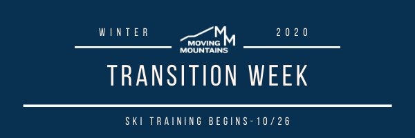This Week at Moving Mountains- Oct. 19th