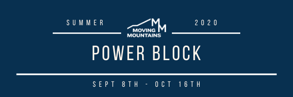 This Week at Moving Mountains- Sept 14th