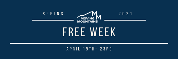 This Week at Moving Mountains