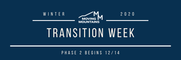 This Week at Moving Mountains- 12/07