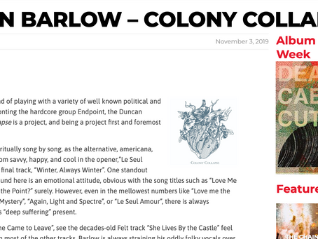 Colony Collapse's First Review