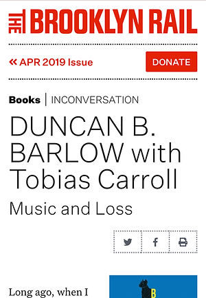 NEWS   duncan b  barlow author of literary fiction