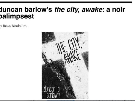 3:AM Reviews THE CITY, AWAKE