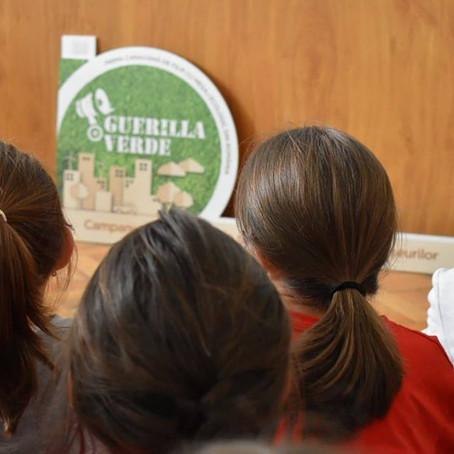 Guerrilla Verde a ajuns în Braşov