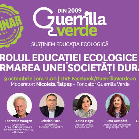 Perspective nordice & romanesti privind rolul educatiei ecologice in formarea societatii durabile