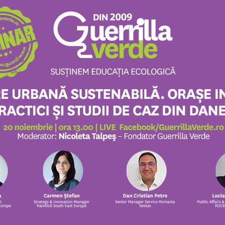Dezvoltare urbana sustenabila. Orase inteligente - Bune practici si studii de caz din Danemarca