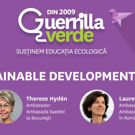 Suedia și Franța - despre Obiectivele de Dezvoltare Durabilă