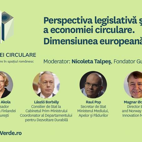 Perspectiva legislativa a economiei circulare - dimensiunea europeana si nationala