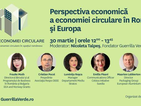 Perspectiva economica privind economia circulara in Romania si Europa