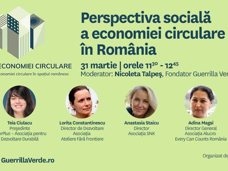 Perspectiva socială asupra economiei circulare in Romania