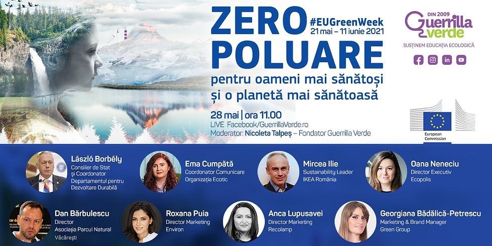 Saptamana Verde Europeana 2021 – Zero Poluare pentru o planeta mai sanstoasa
