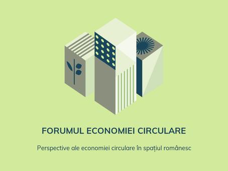 Perspective privind economia circulara: 30-31 martie 2021