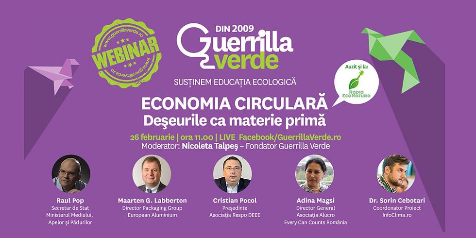 Economia circulara - Deseurile ca materie prima