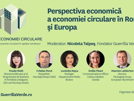 Forumul Economiei Circulare - perspectiva economica a economiei circulare in Romania si Europa