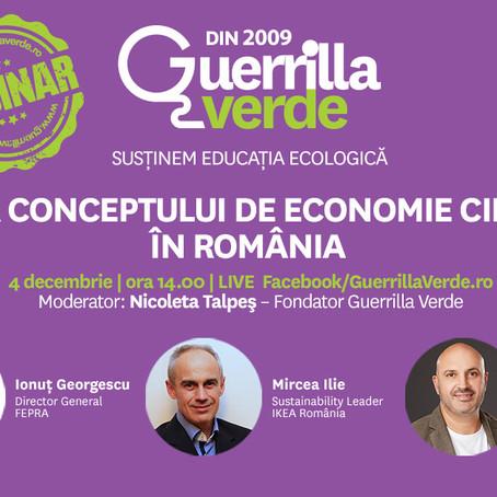 Evolutia conceptului de economie circulara in Romania
