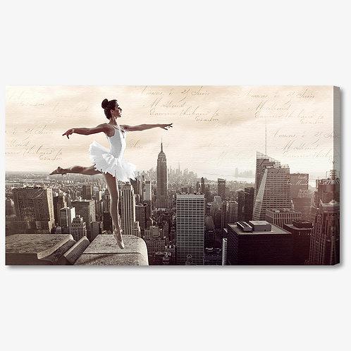 M1325 - Quadro moderno NYC ballerina