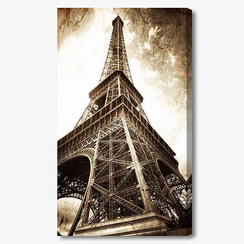 M139 - Quadro moderno Torre Eiffel verticale