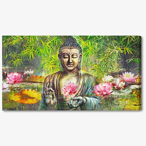 ADL058 - Quadro moderno buddha