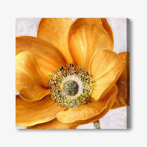 M220 - Quadro moderno fiore giallo