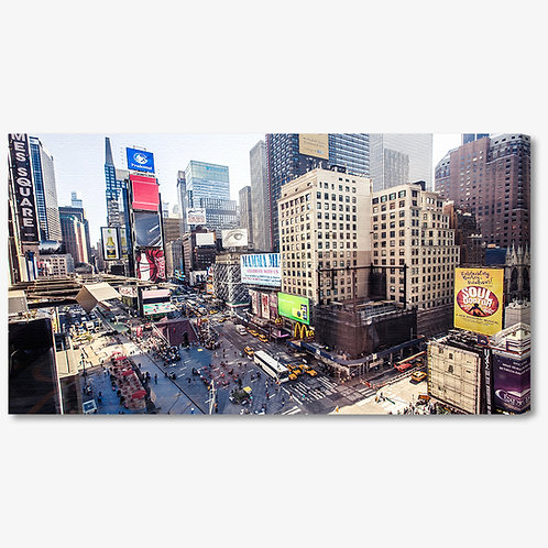 M1091 - Quadro moderno NYC Times Square colorato