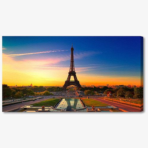 M1257 - Quadro moderno Parigi Torre Eiffel