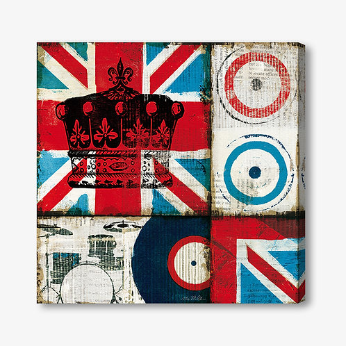 WA125 - Quadro moderno bandiera inglese