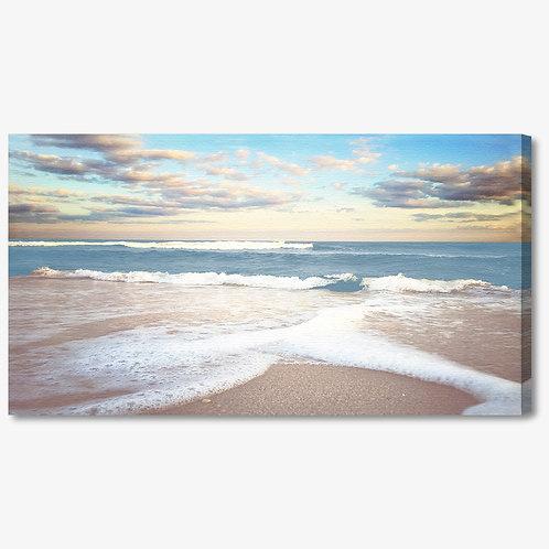 ADL049 - Quadro moderno mare al tramonto
