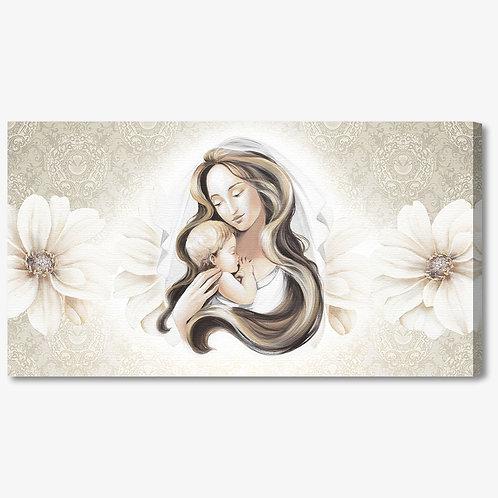 M1172 - Capezzale classico maternità floreale