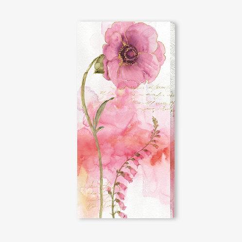 WA835- Quadro floreale rosa