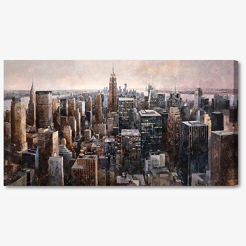 MB007 - Quadro moderno astratto NYC skyline