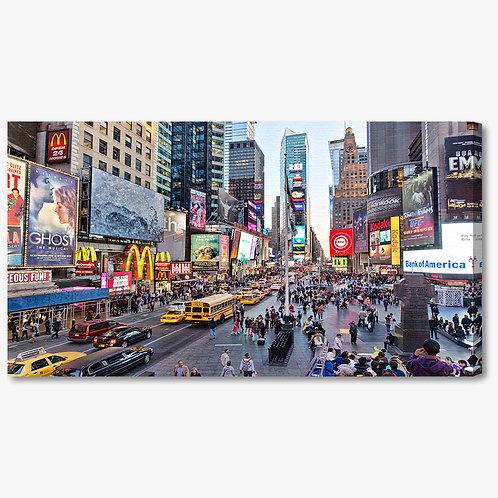 M1092 - Quadro moderno NYC Times Square a colori