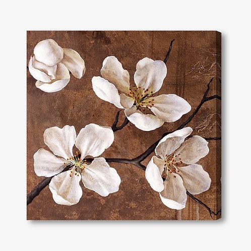 M399 - Quadro moderno floreale fiori di mandorlo