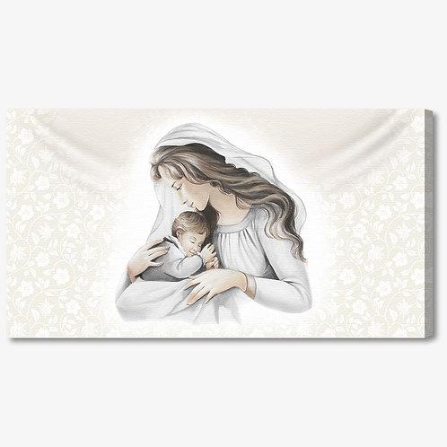 M1113 - Capoletto manie maternità su fondo argento