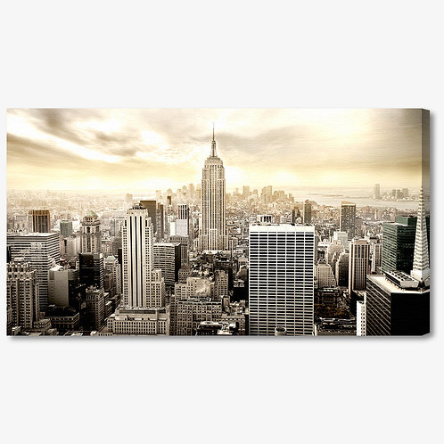 M764 - Quadro moderno skyline NYC