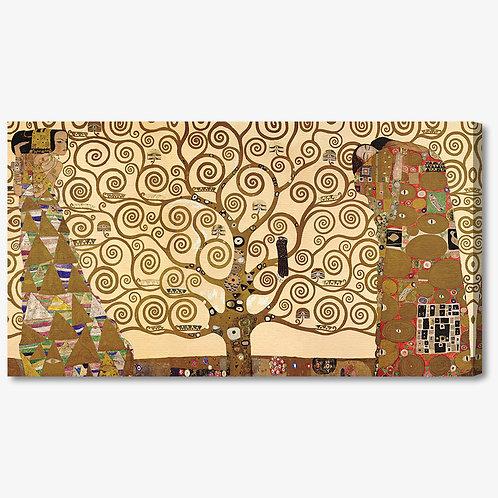 M068 - Quadro classico Klimt albero della vita