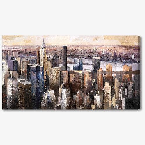 MB001 - Quadro moderno NYC skyline