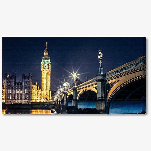 M858 - Quadro moderno Londra Big Ben