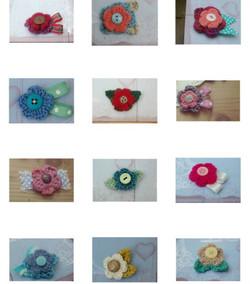 articulate crochet flower
