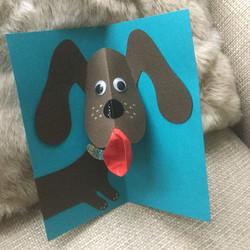 pop up animal cards