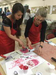 articulate lino cutting workshop craft group Bath.jpg