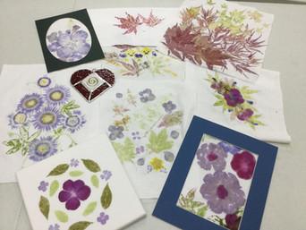 Articulate Craft Club Botanical printing