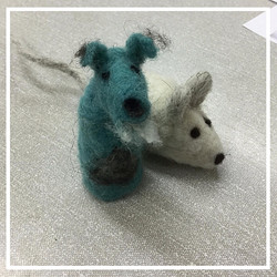 articulate workshop needle felting dog and mouse_edited