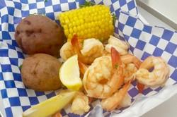Boiled Shrimp basket