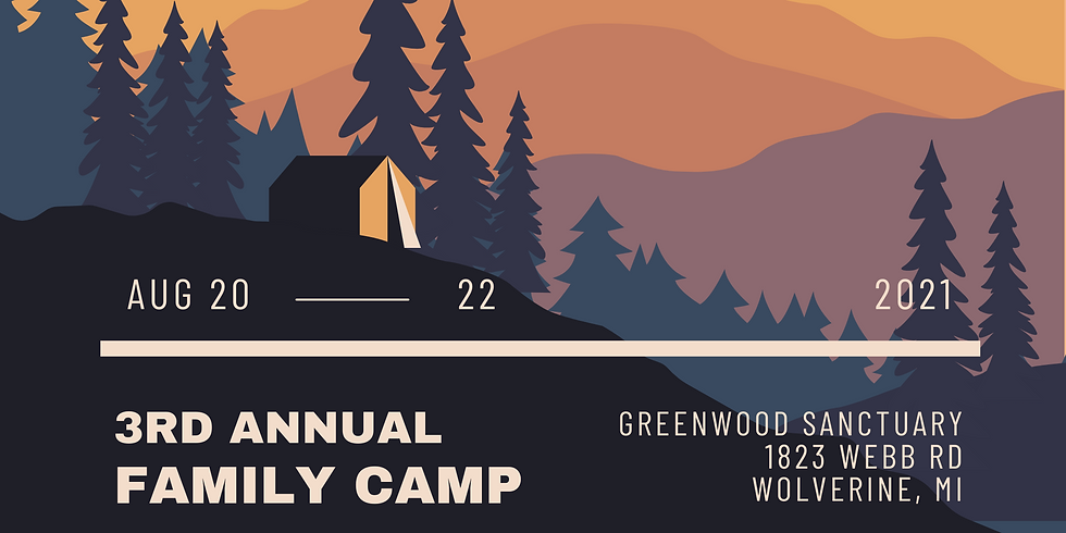 3rd Annual Family Camp