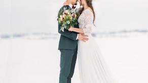 Wedding Shooting hivernal
