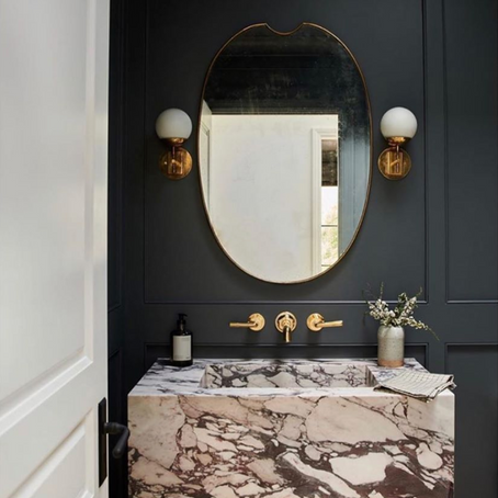 Powder rooms: small space, BIG drama!