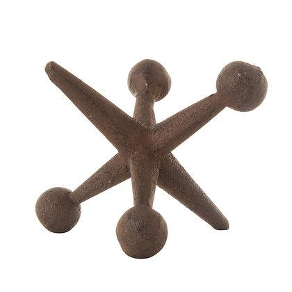 Cast Iron Jack Sculpture