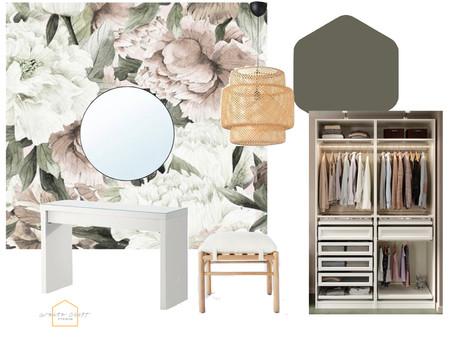 A DIY Master Closet Refresh - One Room Challenge Week 1
